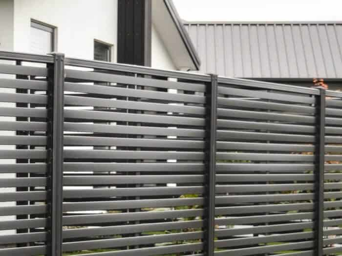 ColourSlat Steel Fences
