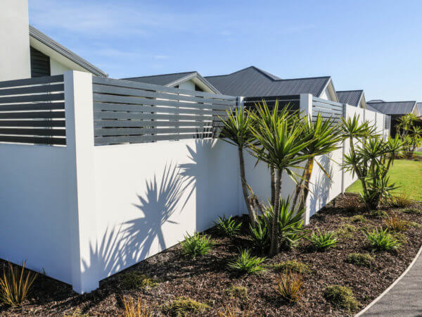 Elitewall fences with Durapanel