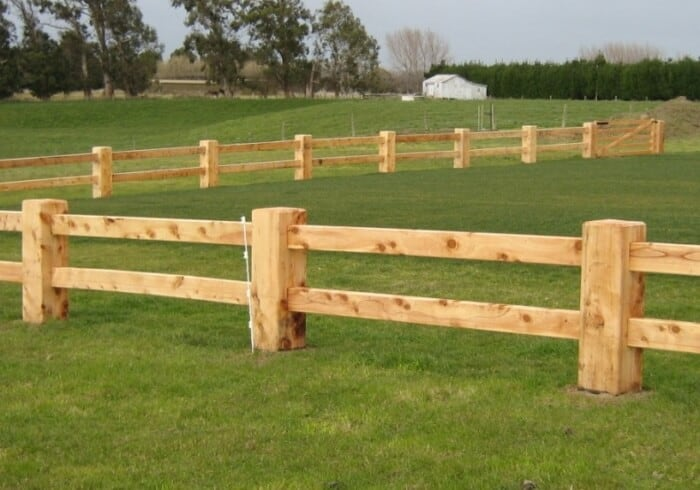 Post and Rail 2-Rail Fences
