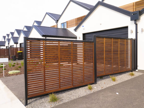 ColourSlat Classic Timber Fence