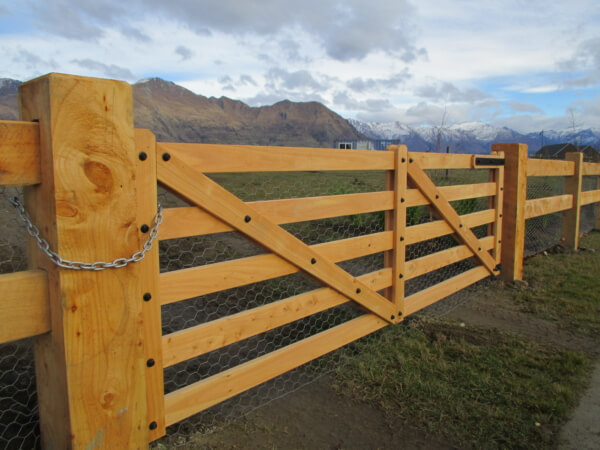 Post and Rail Custom Fence Solutions