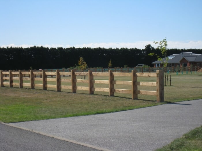 Post and Rail 3-Rail Fences