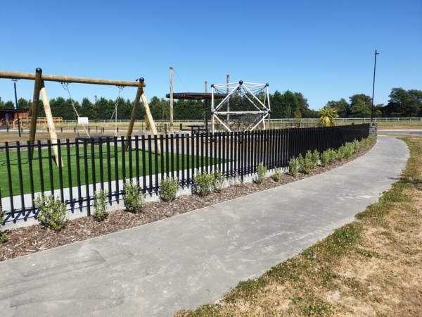 Axis fencing in Karamu, Christchurch